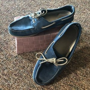 Wide Width Timberland Blue Escape Boat Shoes
